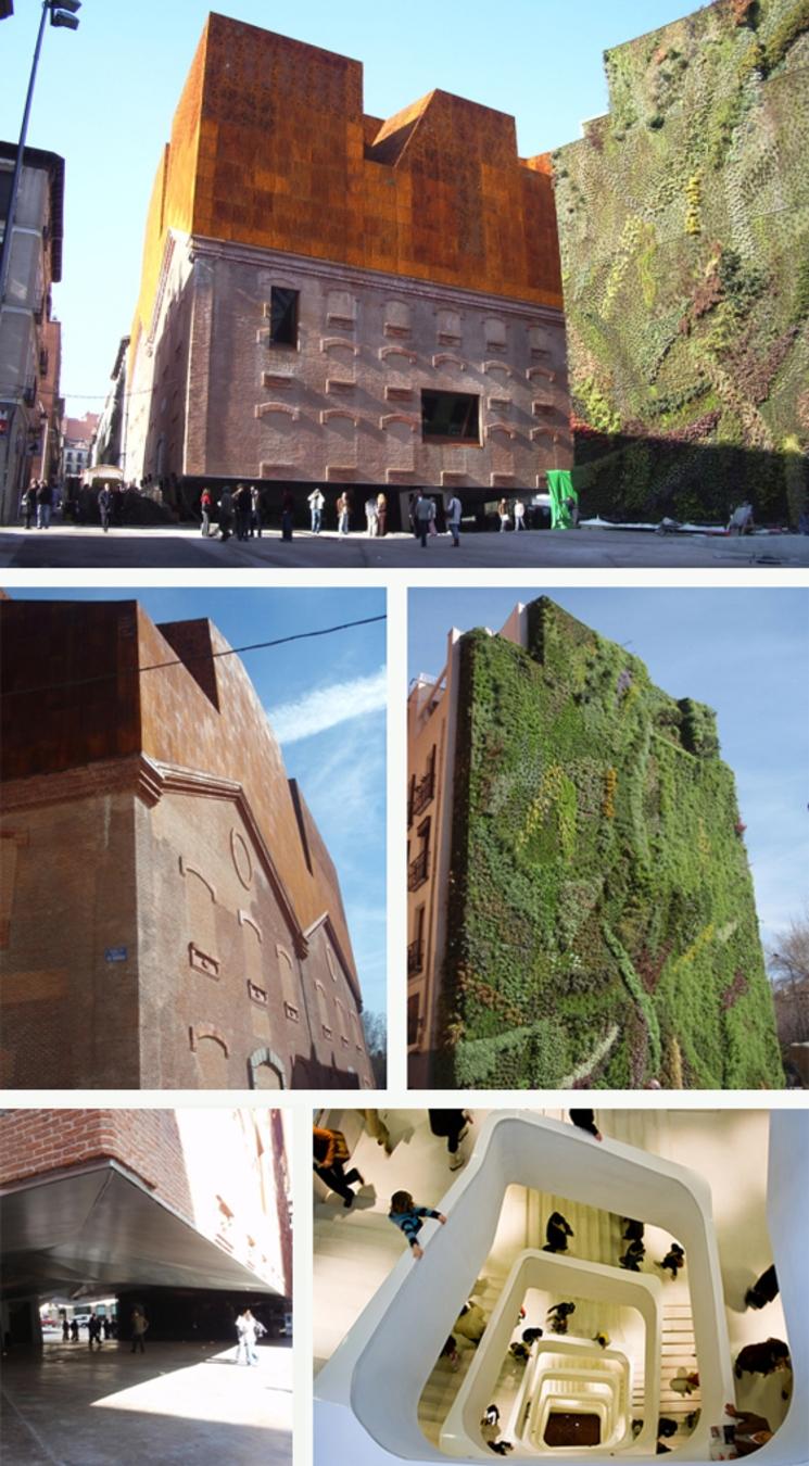 Caixa Forum Madrid - Herzog & de Meuron - (2.008)