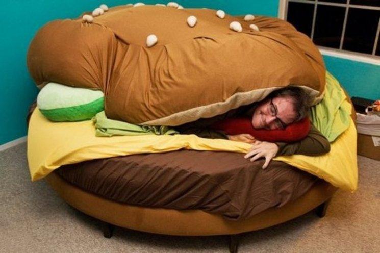 Cama hamburguesa