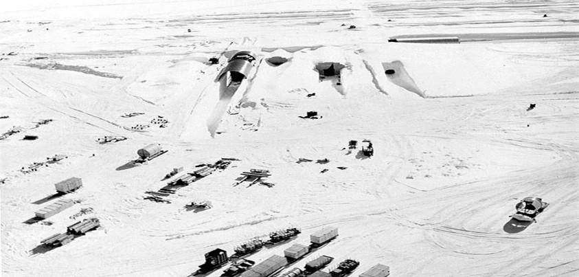 Camp Century, la base militar estadounidense bajo el hielo