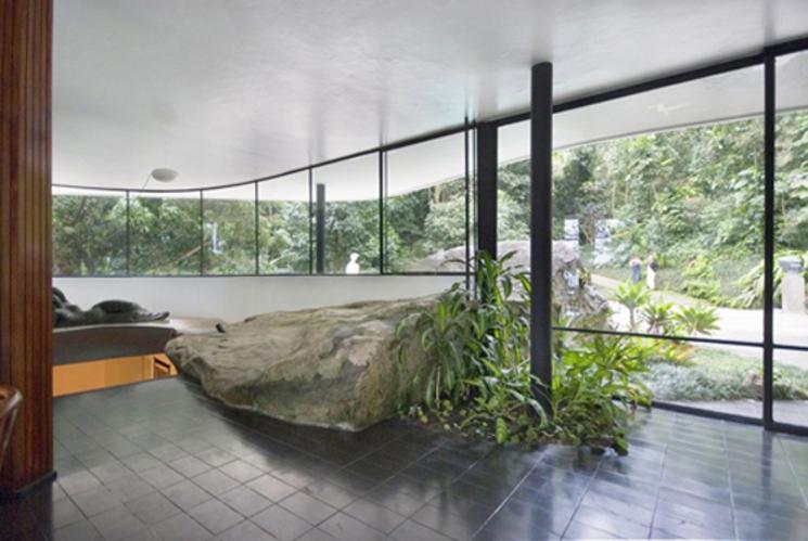 Casa en Canoas - 1953 - Oscar Niemeyer