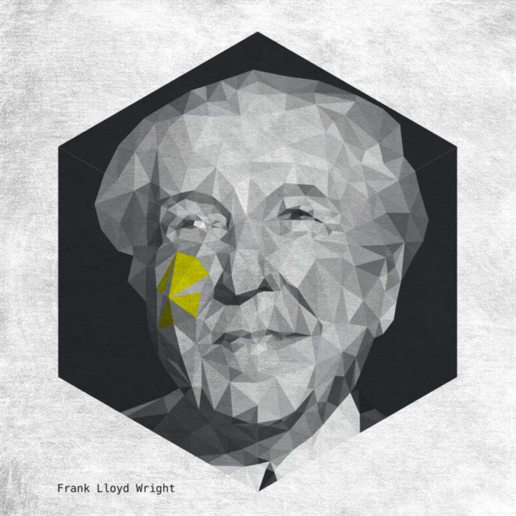 Caras arquitectos famosos triangulares frank lloyd wright