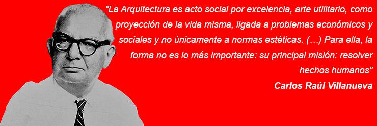 Carlos Raul Villanueva arquitecto arquitectura acto social