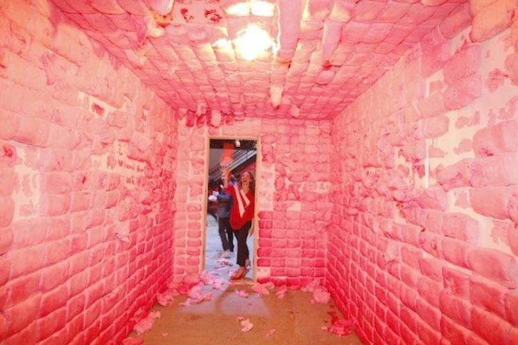 Casa de algodón de azúcar