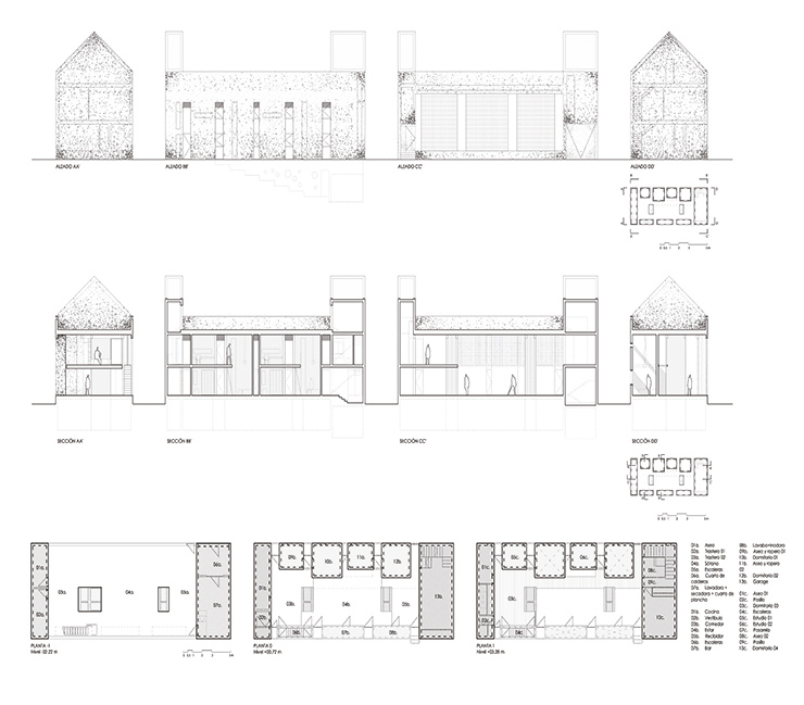 Casa Fuensanta Muka arquitectura vivienda entre medianeras