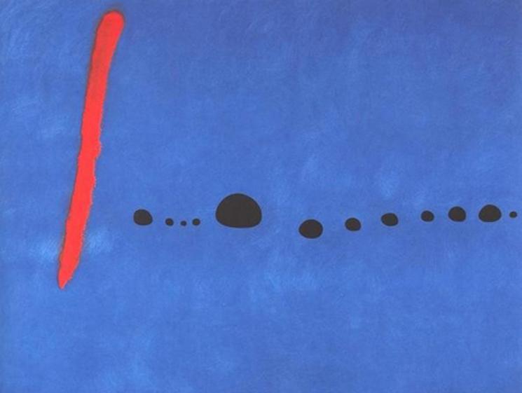 Azúl de Joan Miró