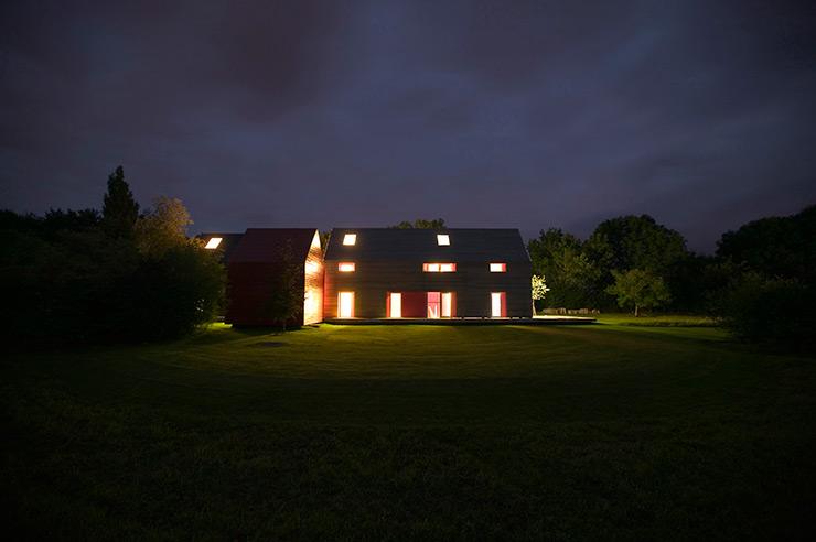 Casa deslizante Suffolk drmm sliding house
