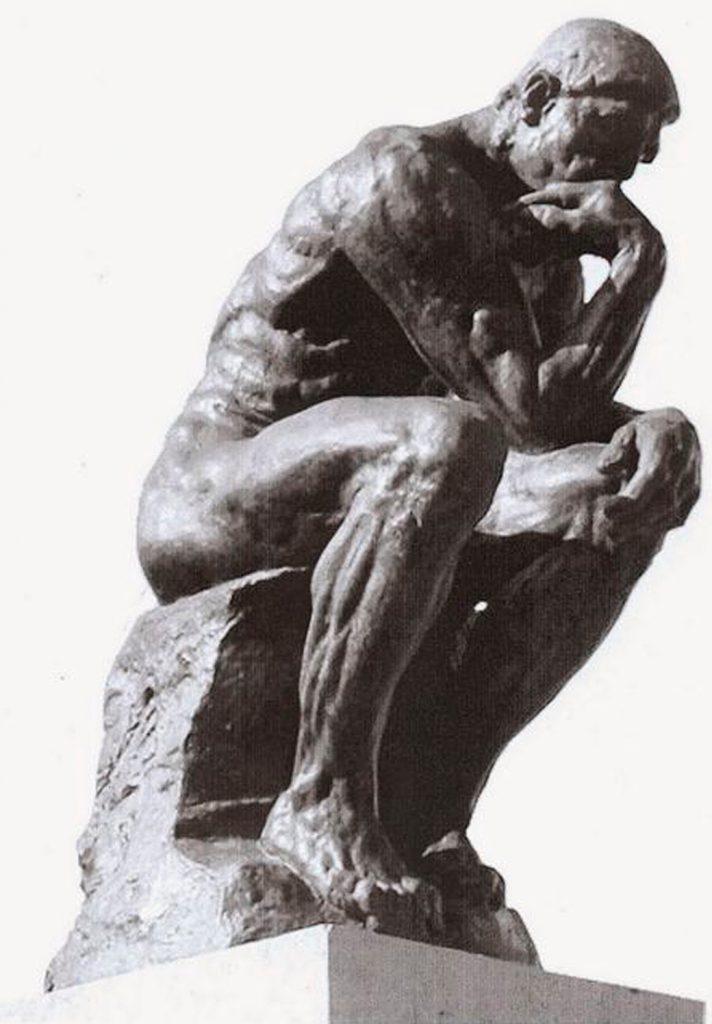 Casa estatua pensador rodin