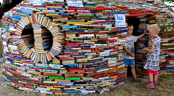 Una casa hecha con libros