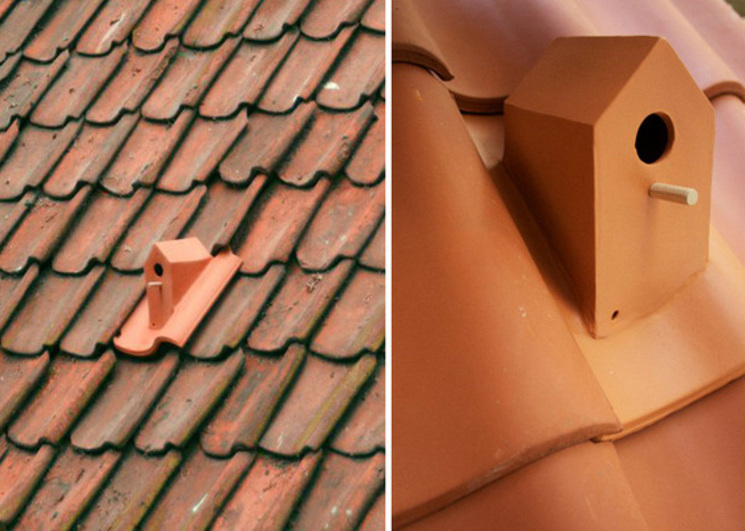Birdhouse Rooftile - Teja Nido