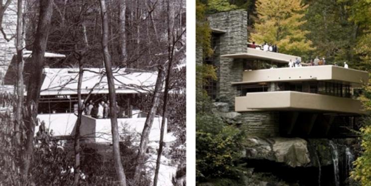 Fotos de Casa de la Cascada - Frank Lloyd Wright