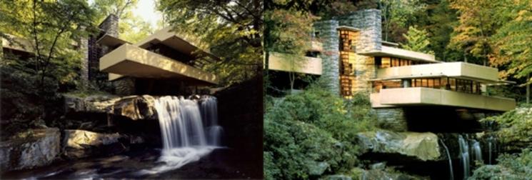 Casa de la Cascada - Frank Lloyd Wright