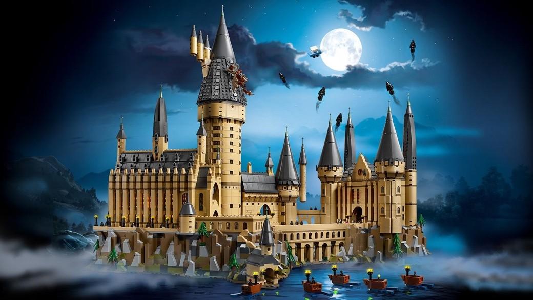 Un nuevo Castillo de Hogwarts de Lego para su serie Harry Potter