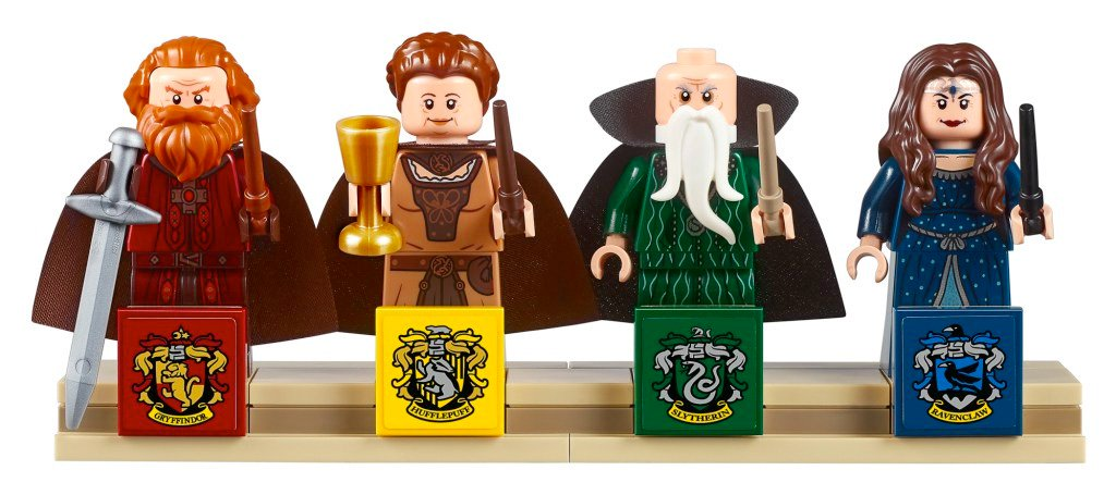 Castillo de Hogwarts de Lego