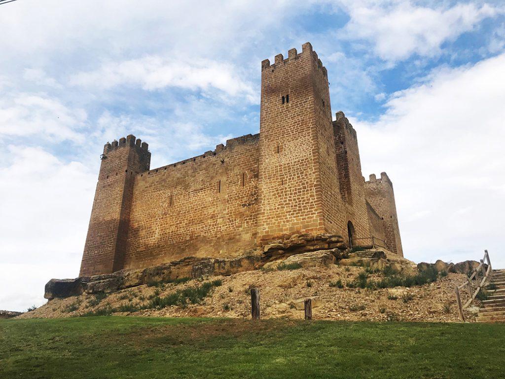 castillo de sadaba tipologia felipe augusto