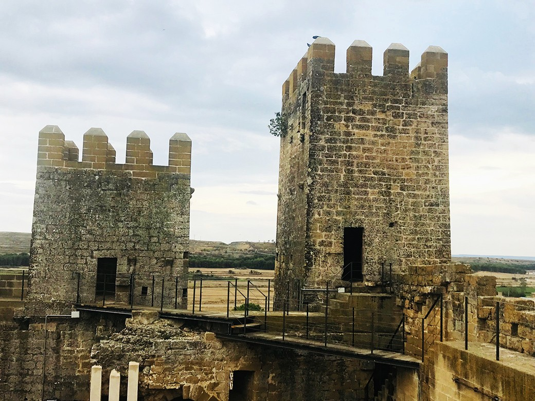 castillo de sádaba tipologia felipe augusto