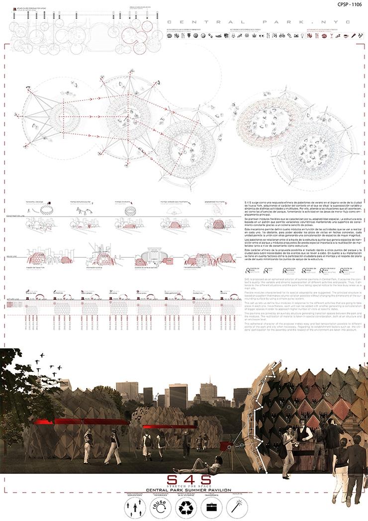 Central Park Summer Pavilion Arquideas CPSP