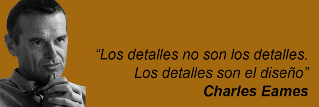 Charles Eames detalles arquitecto detalle