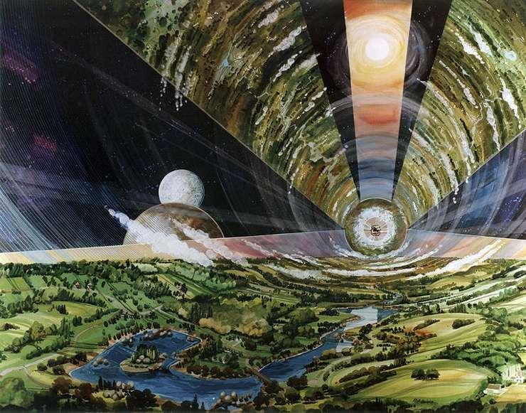 Los 6 sectores del Cilindro de O'Neill