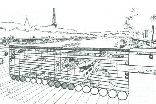 Ciudad bajo el Sena - Paul Maymont