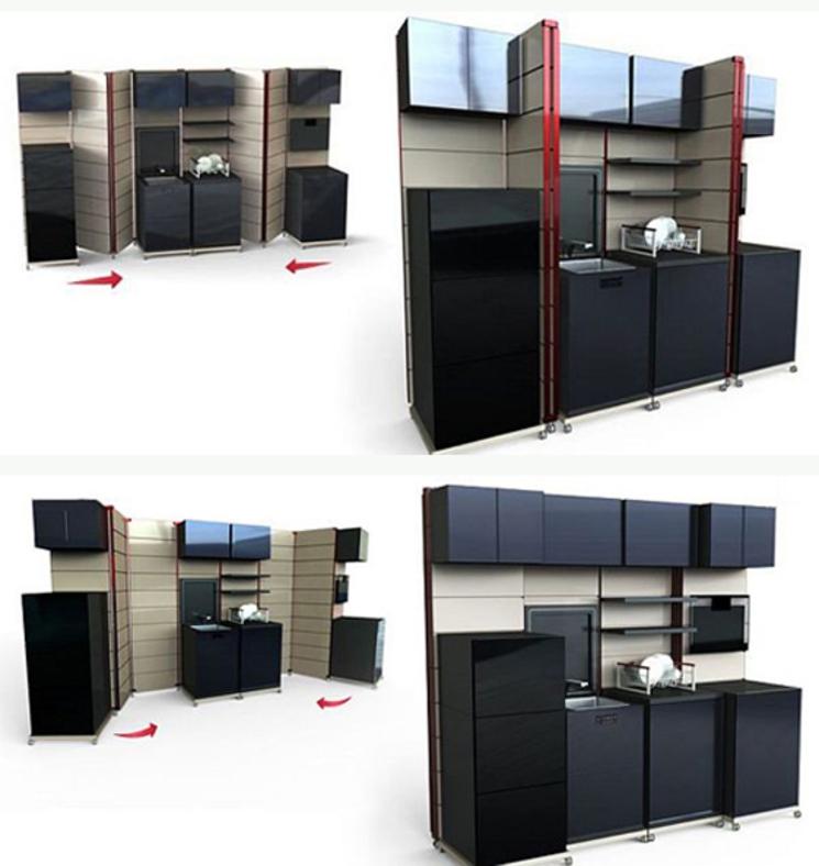 Cocina Plegable - Design by Goci
