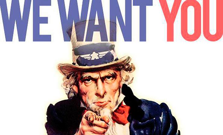 we want you colabora en COSAS de ARQUITECTOS equipo trabaja con nosotros