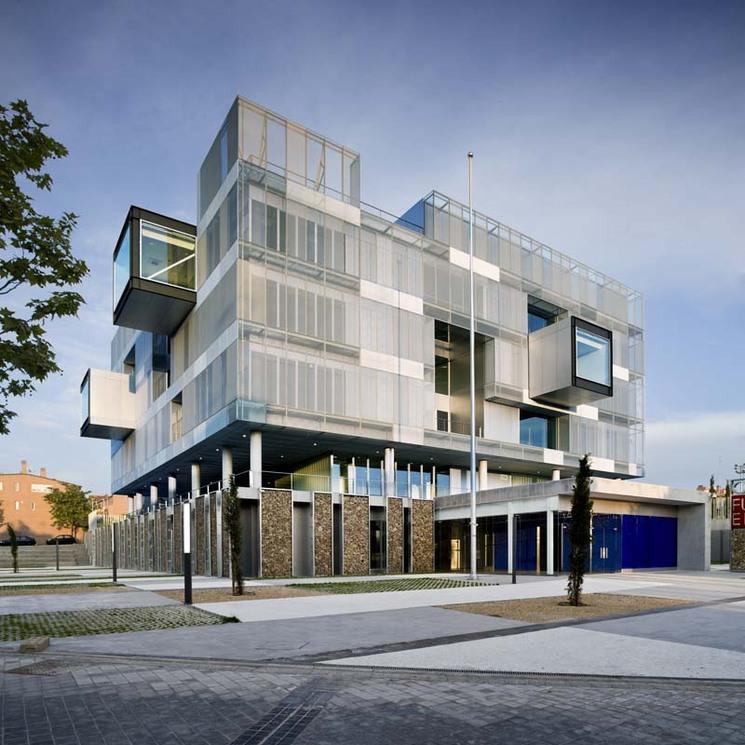 Comisaría Fuencarral-El Pardo por Voluar arquitectura