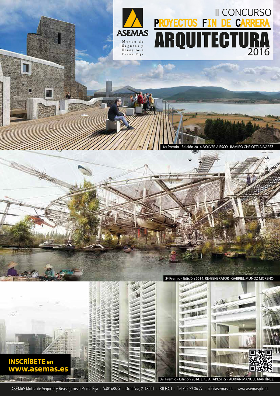 concurso pfc arquitectura asemas 2016 cartel