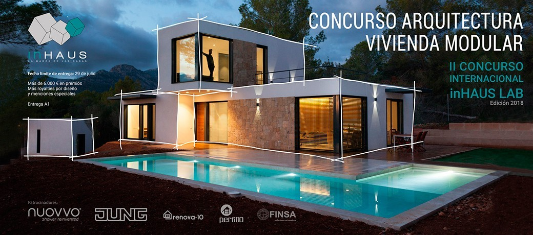 Concurso inhaus lab casas prefabricadas vivienda modular
