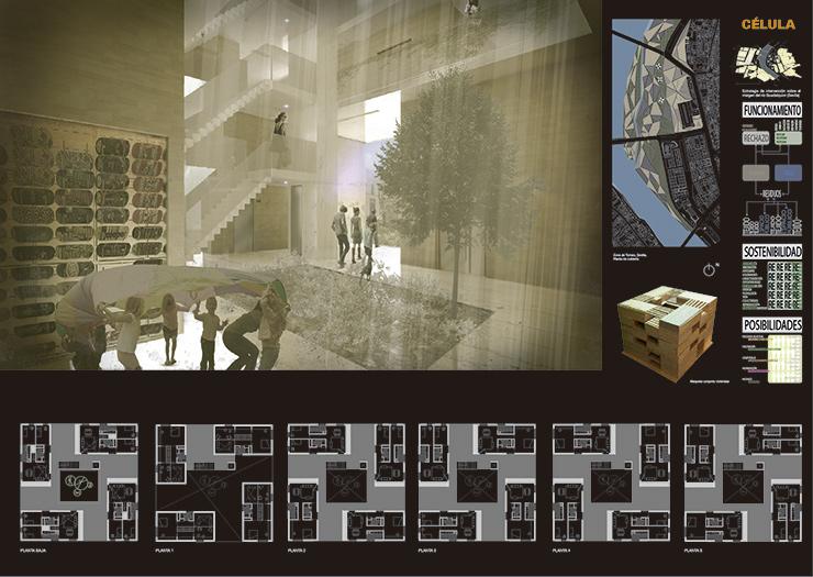CELULA concurso de proyectos de arquitectura