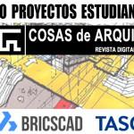 Proyectos recibidos en el I Concurso de Proyectos de COSAS de ARQUITECTOS