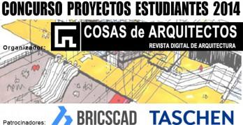 Concurso Proyectos de Arquitectura para estudiantes 2014