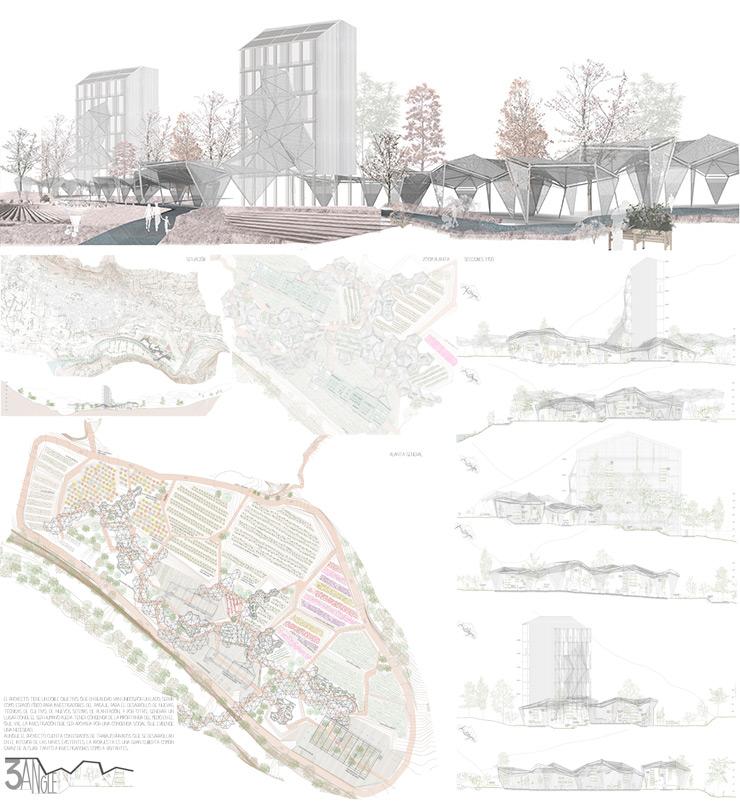 Concurso proyectos estudiantes arquitectura 3ANGLE
