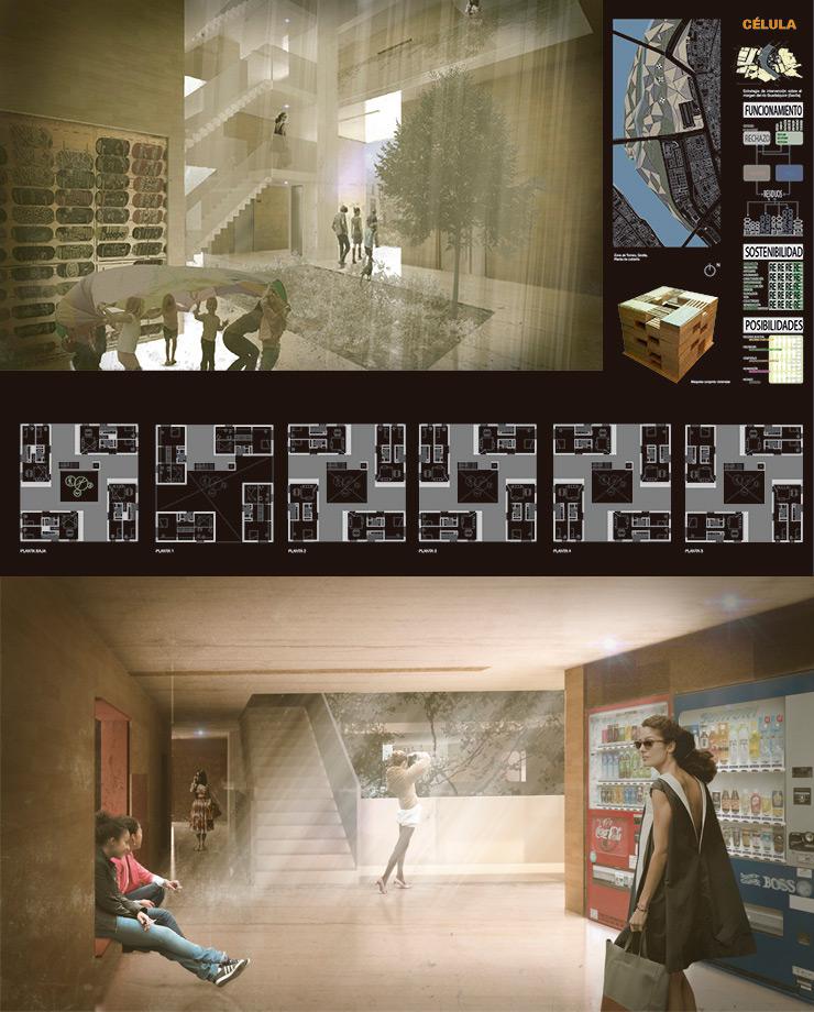 Concurso proyectos estudiantes arquitectura CELULA