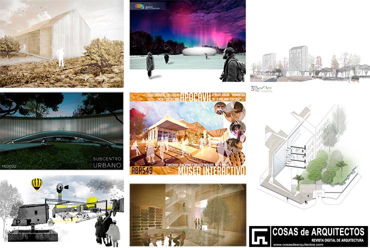 Concurso de proyectos para estudiantes de arquitectura finalistas