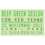 Conferencia Magistral de Ken Yeang en Lima