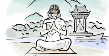 Consciencia propulsada realidad virtual