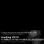 III congreso internacional de arquitectura CONSTRUTEC-COAM