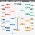 La Copa del Mundo de los Mapas de Metro 2018