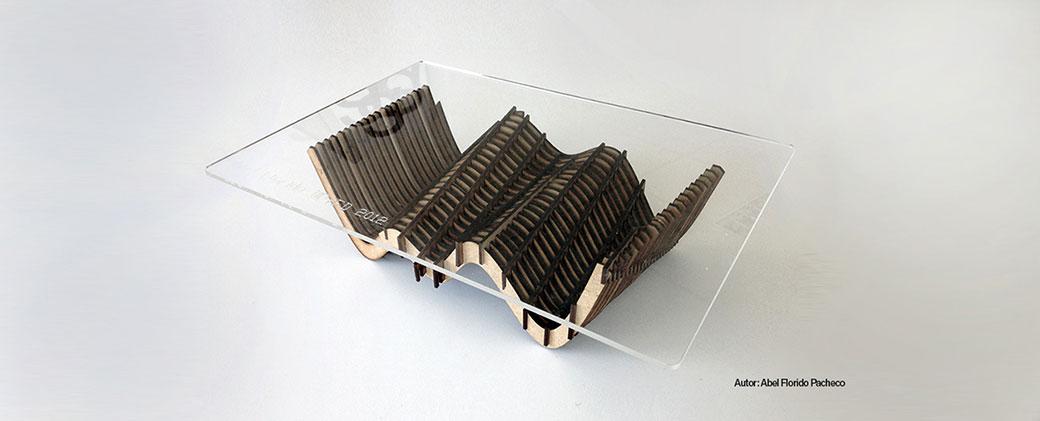 cortebox maqueta mesa