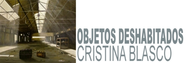 objetos deshabitados cristina blasco