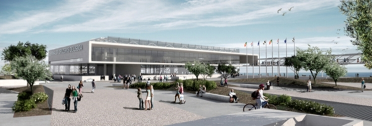 Terminal de cruceros de Lisboa por Regino Cruz arquitectos
