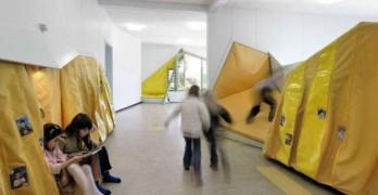 Un indicador de diseño espacial atractivo: niños correteando