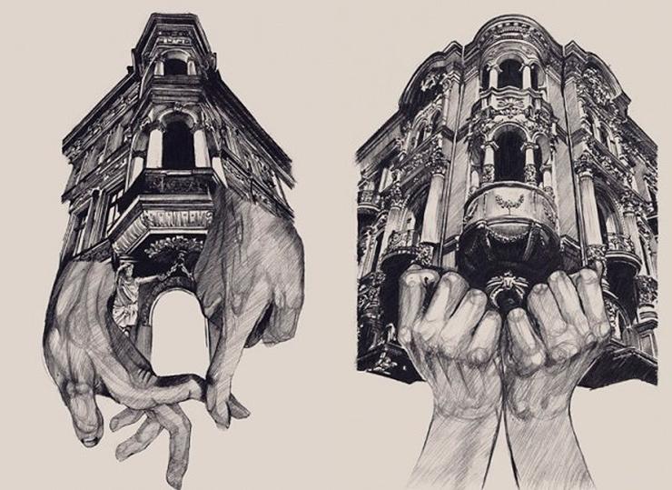 dibujos de arquitectura