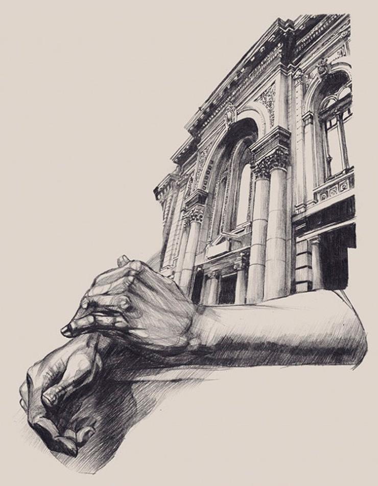 Impresionantes dibujos de arquitectura - Mesa de dibujo para arquitectura ...