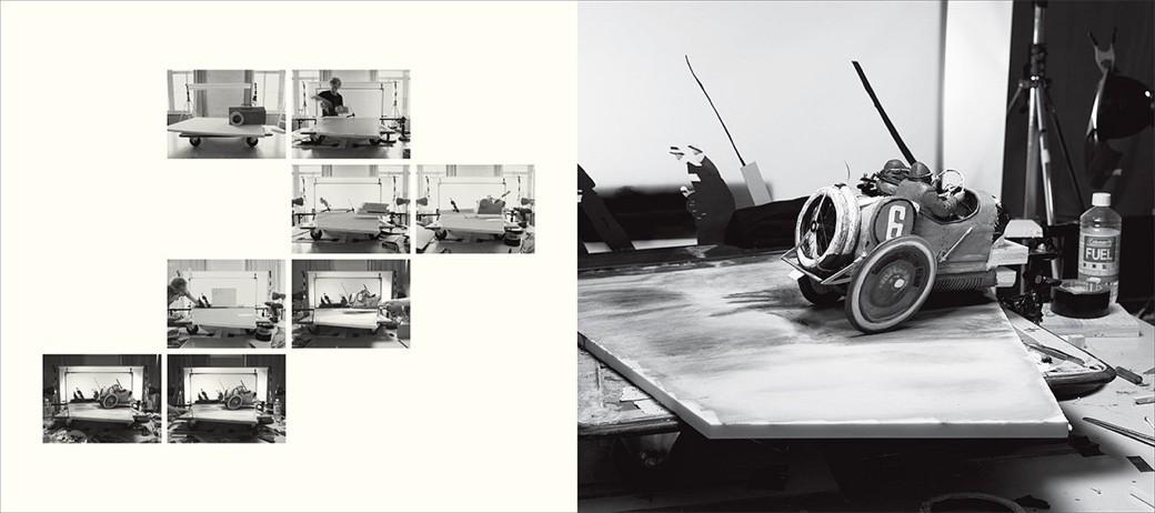 Dioramas para reproducir a todo detalle las más famosas fotografías de la historia