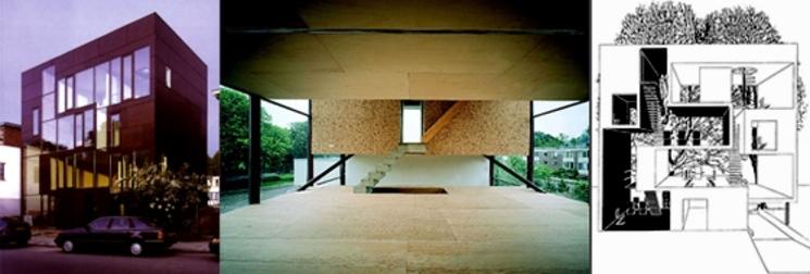 Villa KBWW Casa doble en Utrecht (1.997) de MVRDV