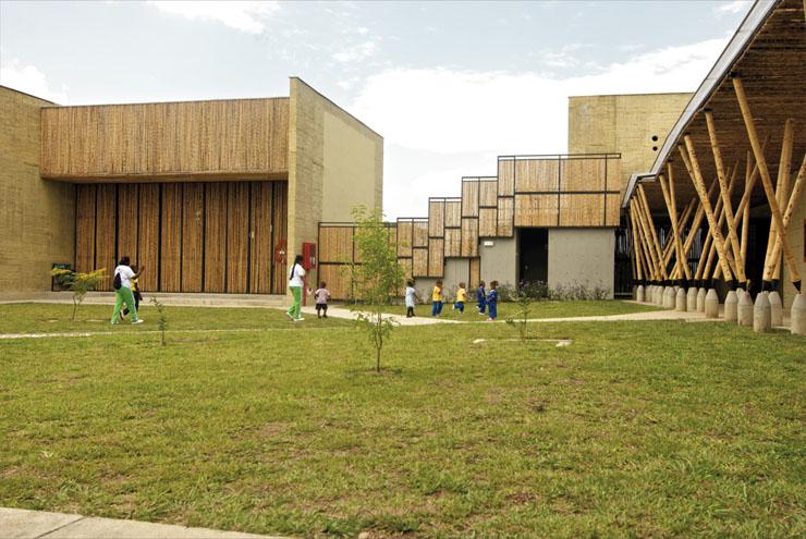 Centro de desarrollo infantil el guadual colombia Arquitectura de desarrollo