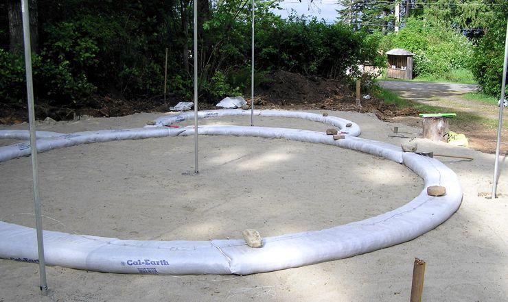 Emergency Sandbag Shelter
