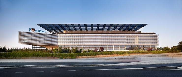 Sede central de endesa por rafael de la hoz arquitectos for Oficinas de endesa en malaga