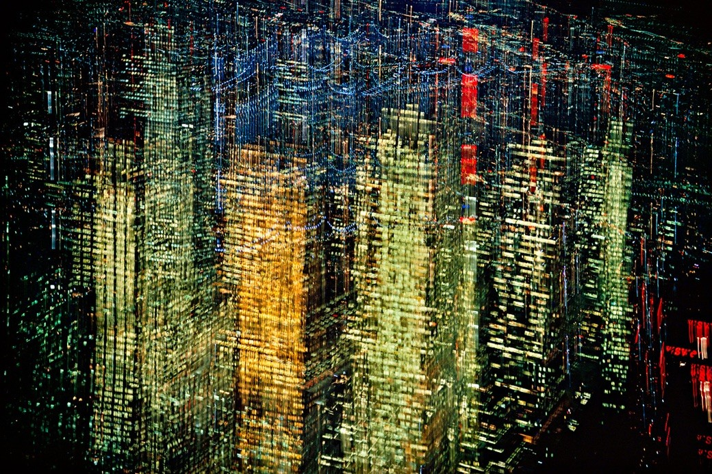 Ernst Hass - Lights of New York City 1972